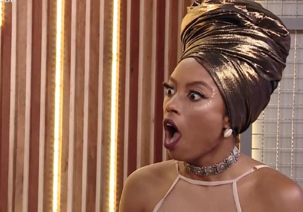 Lumena Aleluia deixa o Big Brother Brasil com 61,31% dos votos