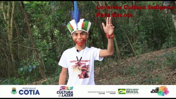 No mês do Dia do Índio tem estreia do Projeto Levando Cultura indígena Para Escola