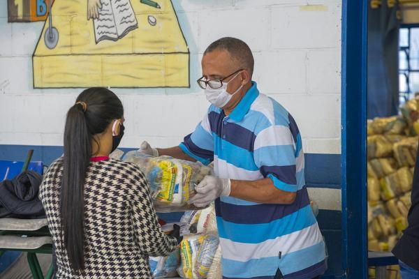 Escolas municipais farão a entrega do Kit Merenda entre os dias 10 e 14/06