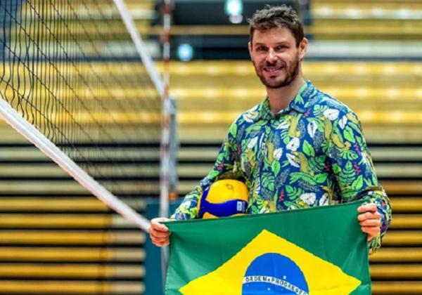 Bruninho e Ketleyn Quadros serão porta-bandeiras do Brasil