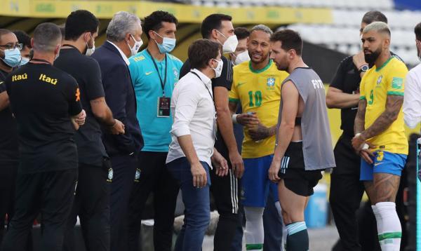 Fifa investiga jogo entre Brasil e Argentina