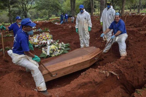 País entra em tendência de queda nas mortes por coronavírus