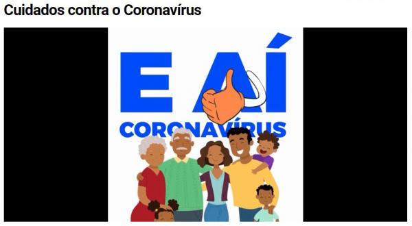 Cuidados contra o Coronavírus
